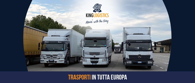 trasporti e traslochi europa