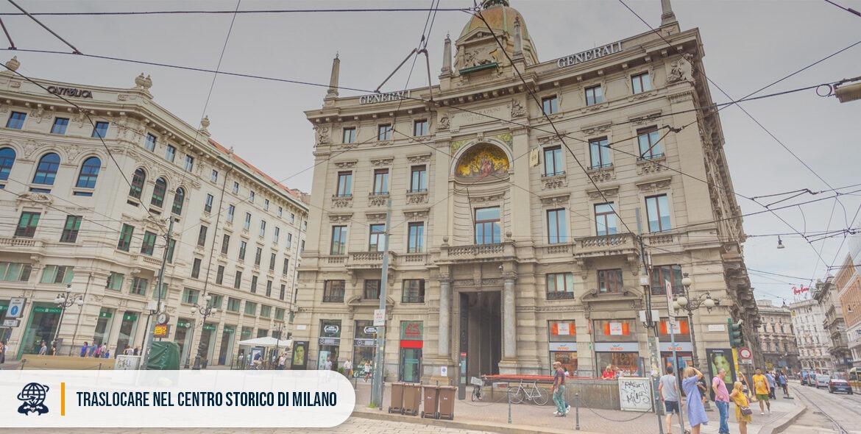 trasloco centro storico milano