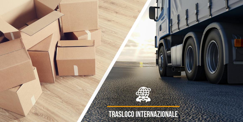 servizio trasloco internazionale